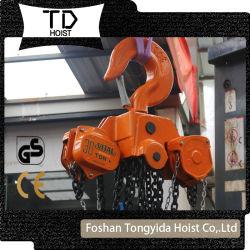 Ручной рычаг подъемника 1 тонны цепь блока 2 тонн цепной тали зубчатого шкива цепи блока ручной тали подъемные строительного оборудования