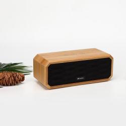 極度の健全な無線タケBluetoothのスピーカーボックススピーカーの木製のステレオの小型スピーカー