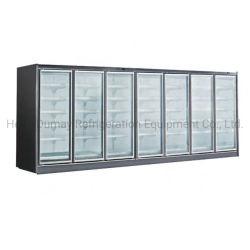 Commercial de la viande fraîche de supermarchés réfrigérateur congélateur d'affichage