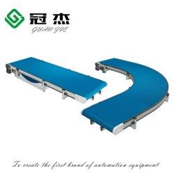 유리병 또는 금속 깡통 또는 플라스틱 용기 또는 포장 수송을%s 격판덮개 사슬 콘베이어