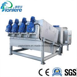Het Dik maken van de Modder van de Behandeling van het Afvalwater van de Pers van de schroef de Behandeling van het Water van het Afval van het Dehydratatietoestel van de Modder van de Machine