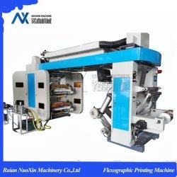 4 couleurs de la courroie de la pile de type Machine d'impression flexographique