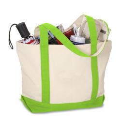 خضراء قطر نوع خيش تسوق حقيبة يد [توت بغ] قابل للغسل [غروسري بغ] قطر نوع خيش تسوق [توت بغ]