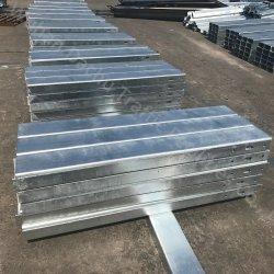 Glissière de sécurité de la route de l'acier galvanisé U des postes pour le Canada