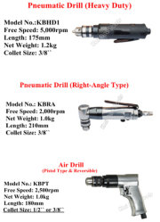Pneumatic Air Power Drill Drilling Tools