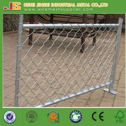Maillon de chaîne de revêtement en PVC avec la porte du panneau de clôture