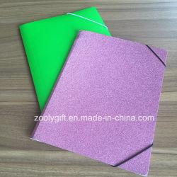 Блестящие цветные лаки бумаги файлов в папке документов формата A4 Pocket файл