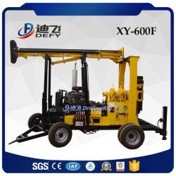impianto di perforazione del pozzo d'acqua di 600m, macchina della piattaforma di produzione del campione del terreno, perforatrice Xy-600f del campione di memoria