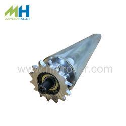 重 / 中デューティ産業用シングル / ダブルスチールスプロケット固定チェーン駆動力 コンベヤローラー