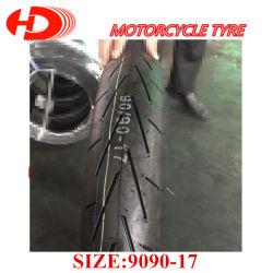 Pneu sans chambre de la taille 90/90-17 en gros de pneu de moto de marque de dessus d'usine de Shandong