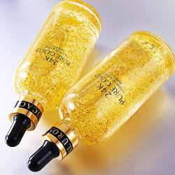 مستحضرات التجميل الخاصة التسمية العناية بالبشرة 24K Gold Serum Whitennng Moisturizer علاج الوجه بجوهر الوجه لمكافحة الشيخوخة Wrinkle Vitamin C Face Serum