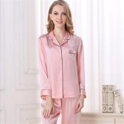 En pure soie pyjamas Ensembles Ladies' les vêtements de nuit