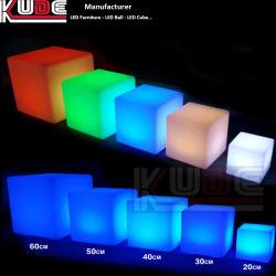 LEDの立方体の魔法の立方体表LEDの照明立方体ランプ