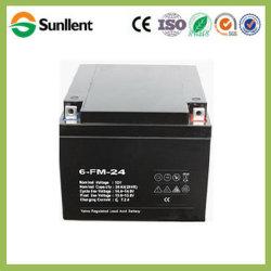 12V24Ah batería AGM libre de mantenimiento para vehículos eléctricos de iluminación de UPS aplicaciones solares