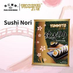 Обжаренные кусочки Yummyto Nori 50 халал сертифицированных водоросли Nori торговой марки