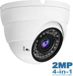 1080P Mischling 4 in-1 Sicherheits-Abdeckung-Kamera Varifocal Objektiv 2.8-12mm CCTV-HD