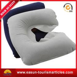Camping gonflable oreiller de soutien du dos en PVC