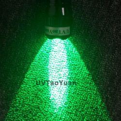 Зеленый индикатор горит светодиодный фонарик 3 Вт