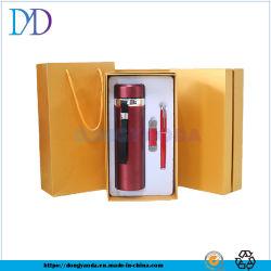 L'élingue portable 304SUS Fiole à vide / disque U / métal Pen Signature / Ensemble cadeau en trois pièces la personnalisation