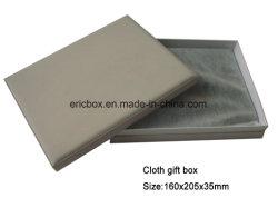Tissu Tissu de couleur grise Photo Frame Storge papier Emballage de cadeau Box