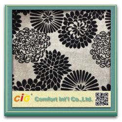 Pegado de la moda acudiendo ante el patrón de chenilla tejido tapizado sofá cojín (CIGD1N013)