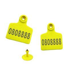 Bovinos Suínos Ovinos RFID UHF marcas auriculares de rastreamento e gerenciamento agrícola