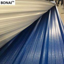Bonne qualité de l'isolation thermique de l'entrepôt feuille PVC en plastique ondulé