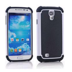 3dans1 dur hybride à impact élevé de cas le couvercle en silicone pour Samsung Galaxy S4 IV I9500
