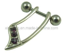 Het knippen de Juwelen van het Lichaam van het Staal van Oorringen (6003)