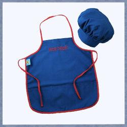 Les enfants et un tablier de cuisinier Hat Tablier coton Kids tablier personnalisé défini