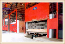 粘土の煉瓦製造業のための新しいデザイントンネルキルン