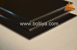 Digital-Drucken-Zeichen-Vorstandsignage-Silber-Spiegel-Pinsel PET PVDF, das 2mm 6mm 3mm 4mm Innenaußenzwischenwand-Fassade-Umhüllung-zusammengesetztes Aluminiumpanel beschichtet