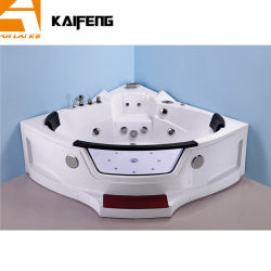 현대적인 디자인의 코너 자쿠지 욕조 월풀 (KF-623)