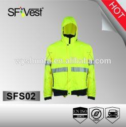 De nouveaux produits de sécurité haute visibilité de la sécurité de l'équipement de sport Veste réfléchissante