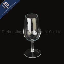 Recycelter Rotwein-Goblet Aus Kunststoff für Spritzgussform