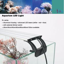 16W Aquário de LED de brilho de luz ajustável para recifes marinhos