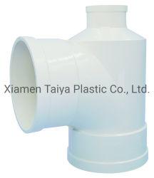 Acessórios para tubos de PVC Dwv t na forma de garrafas de 110mm*50mm