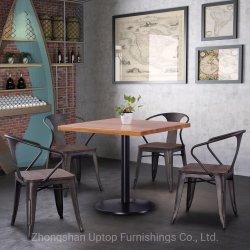 (SP-CT859) mesa de restaurante rústico restaurante sillas muebles