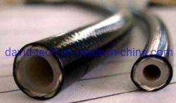 Espiral de PVC reforçados com fibras de aço de spray de ar de gás de água transparente de fornecimento de óleo do tubo de borracha de poliéster