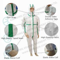 PPE 일회용 보호 안전 작업복