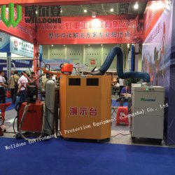 Extracteur de fumées de soudage extracteur de poussière du filtre à air