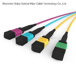 MPO-MTP Cable de fibra óptica para centros de datos