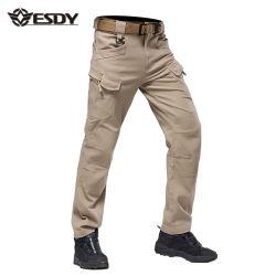 Pantaloni esterni di addestramento militare che fanno un'escursione i pantaloni tattici del carico di sport IX7