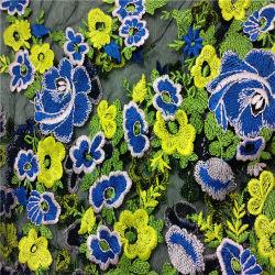يطرق شبكة ثوب بناء زهرة تصميم كثير لون