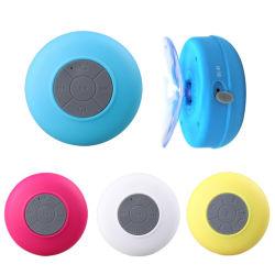 На складе! Водонепроницаемый гарнитуры Bluetooth беспроводной микрофон громкой связи душ всасывающий патрон динамик автомобильную акустическую портативный мини-MP3 Super Bass приема вызова
