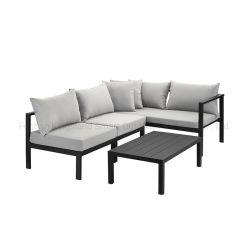 キャンペーンアルミニウム屋外ガーデン多機能ラウンジソファセット / ソファチェア 家具