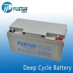 高品質12V65ahのAGMの長い生命深サイクルSLA Mf VRLA電池