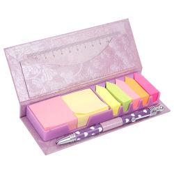 문구용품 고정되는 메모, Eco 친절한 스티키 메모장 고정되는 상자
