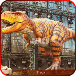 Animatronic T Rex Dinosaurier-Repliken lebensgro?