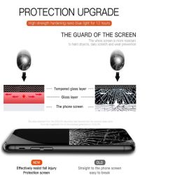 Nouveau verre trempé incurvé 3D'écran protecteur pour iPhone x